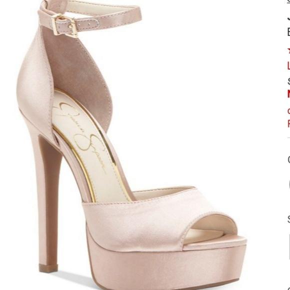 3bed7347a71 Jessica Simpson Beeya Two-Piece Platform Sandals